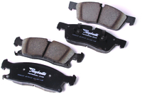 Image Brake Pads, Front ; 11-14 Jeep Grand Cherokee WK