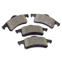 Image Brake Pads, Rear, Titanium; 99-04 Jeep Grand Cherokee WJ