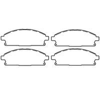 Image Brake Pads, Rear; 99-04 Jeep Grand Cherokee WJ