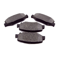 Image Brake Pads, Rear; 07-16 Jeep Liberty KK/Wrangler JK