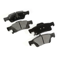 Image Brake Pads, Rear; 11-13 Jeep Grand Cherokee