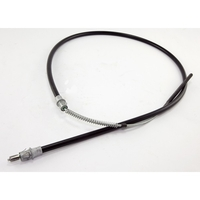 Image Parking Brake Cable, Front; 87-90 Jeep Wrangler YJ