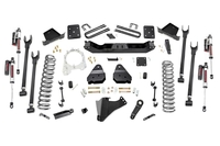 Image 6in Ford 4-Link Suspension Lift Kit (17-20 F-250 4WD | Diesel | w/o Overloads)