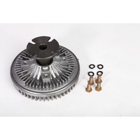Image Fan Clutch w/ V-Belt; 74-91 Jeep SJ Models