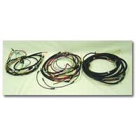 Image Wiring Harness, w/ Turn Signal; 47-49 Willys CJ2A