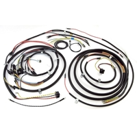 Image Wiring Harness, w/ Turn Signal; 48-53 Willys CJ3A
