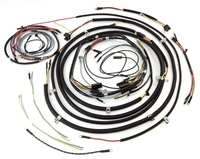 Image Wiring Harness; 53-56 Willys CJ3B
