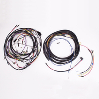 Image Wiring Harness, w/ Cloth Cover; 57-65 Jeep CJ5