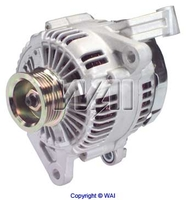 Image Alternator, 136 Amp, 2.5L/4.0L; 99-00 Jeep Grand Cherokee WJ