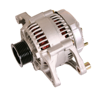 Image Alternator, 117 Amp, 4.0L; 01-02 Jeep Wrangler TJ
