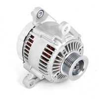 Image Alternator, 117 Amp, 4.0L; 2000 Jeep Wrangler TJ