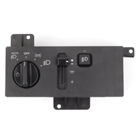 Image Headlight Switch, With Fog, With Auto Headlight; 96-98 Grand Cherokee