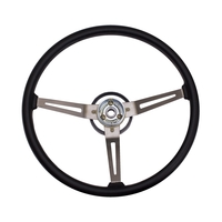Image Steering Wheel, Vinyl; 76-95 Jeep CJ/Wrangler