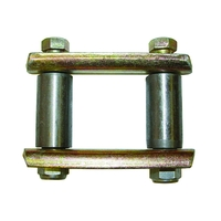 Image Shackle Kit; 55-75 Jeep CJ Models