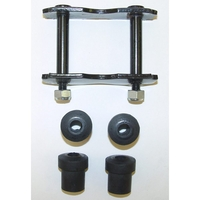 Image Front Spring Shackle Kit; 76-86 Jeep CJ Models