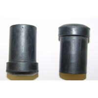 Image Rear Spring Shackle Bushing; 76-86 Jeep CJ Models
