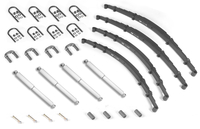 Image Leaf Spring Kit; 55-58 Jeep CJ Models