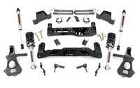 Image 7in GM Suspension Lift Kit | Lifted Struts & V2 (14-18 1500 PU 2WD | Aluminum/St