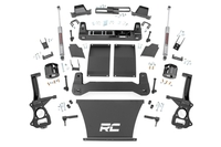 Image 6in Suspension Lift Kit | Strut Spacers (19-21 Chevy 1500 PU 4WD/2WD)