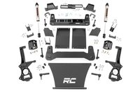 Image 6in Suspension Lift Kit | Strut Spacers & V2 (19-21 Chevy 1500 PU 4WD/2WD)