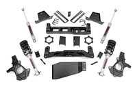 Image 7.5in GM Suspension Lift Kit   Lifted Struts (07-13 1500 PU)