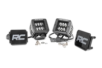 Image 2-inch Black Series CREE LED Square Lights (Pair)