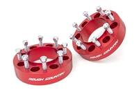 Image 2-inch Wheel Spacers (Pair | Red)