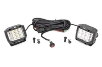 Image 3-inch Wide Angle OSRAM LED Lights - (Pair)