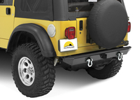 Image HighRock 4x4 Rear Bumper with 2'' receiver hitch/roller mounts