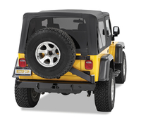 Image HighRock 4x4 Rear Bumper with Tire Carrier