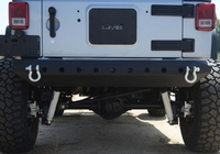 Image Steel Mid Rear Bumper 07 for 07-16 Jeep Wranglers