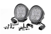 Image 4-inch LED Round Lights (Pair)