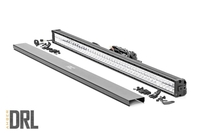 Image 50-inch Cree LED Light Bar - (Dual Row | Chrome Series w/ Amber DRL)
