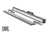 Image 50-inch Cree LED Light Bar - (Dual Row | Chrome Series w/ Cool White DRL)
