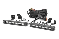 Image 6-inch Slimline Cree LED Light Bars (Pair | Black Series)