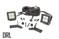 Image Jeep 2-inch LED Lower Windshield Kit (2018 Wrangler JL)