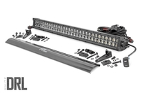 Image 30-inch Cree LED Light Bar - (Dual Row | Black Series w/ Cool White DRL)