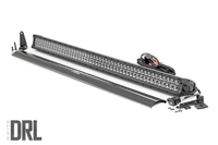 Image 50-inch Cree LED Light Bar - (Dual Row | Black Series w/ Cool White DRL)