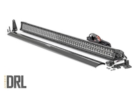 Image 50-inch Cree LED Light Bar - (Dual Row | Black Series w/ Amber DRL)