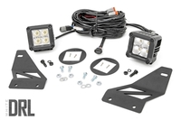 Image Nissan LED Fog Light Kit | Chrome Series w/ Cool White DRL (05-18 Frontier)