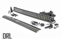 Image 30-inch Curved Cree LED Light Bar - (Dual Row | Black Series w/ Cool White DRL)