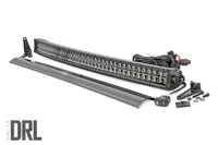 Image 40-inch Curved Cree LED Light Bar - (Dual Row | Black Series w/ Cool White DRL)