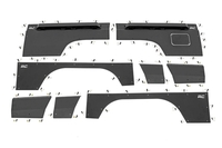 Image Jeep Front & Rear Upper and Lower Quarter Panel Armor - (97-01 Cherokee XJ)