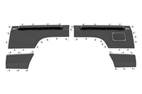 Image Jeep Rear Upper and Lower Quarter Panel Armor (84-96 Cherokee XJ)