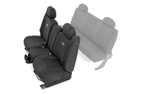 Image GM Neoprene Front Seat Cover | Black [99-06 Chevy / GMC 1500]