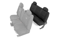 Image GM Neoprene Rear Seat Cover | Black [99-06 Chevy / GMC 1500]