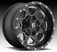 Image Boost D534 - Black & Milled 16x8