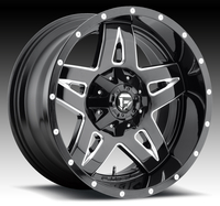 Image Full Blown D554 - Black & Milled 17x9