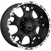 Image 811 Hostel - FLAT BLACK w/ MACHINED LIP 17x9