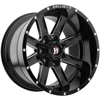 Image 959 Rage - GLOSS BLACK w/ MILLED WINDOWS 20x10